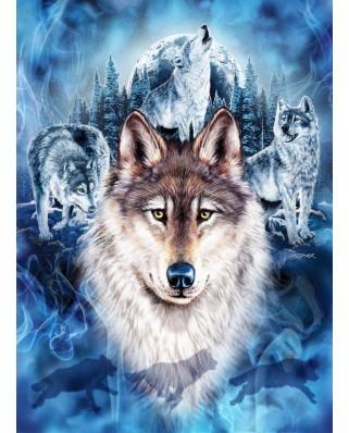 Puzzle Anatolian - Steven Michael Gardner: Wolf Team, 1.000 piese (ANA.1079)