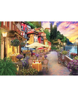 Puzzle Anatolian - David Mc Lean: Lake Como, 2.000 piese (ANA.3944)