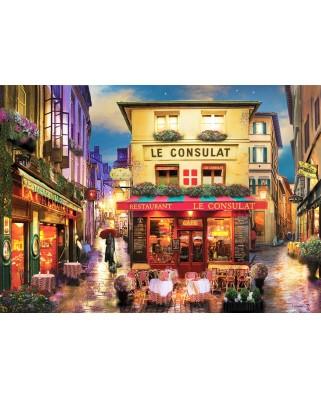 Puzzle Anatolian - David Mc Lean: Meet Me In Paris, 1500 piese (ANA.4552)
