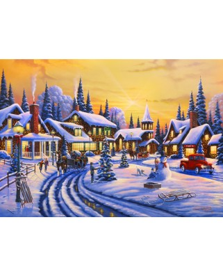 Puzzle Bluebird - A Christmas Story, 1500 piese (70100)