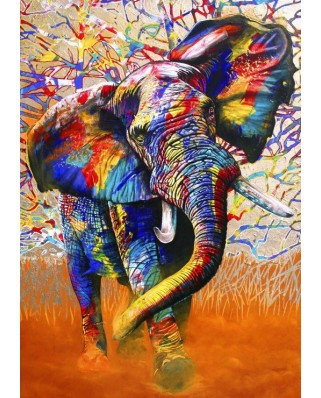 Puzzle Bluebird - African Colours, 1500 piese (70101)
