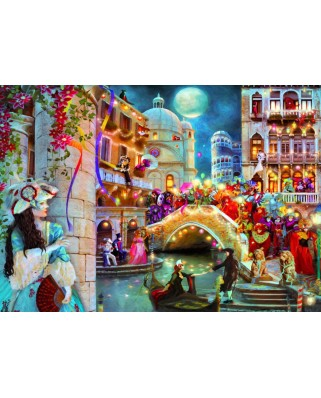Puzzle Bluebird - Aimee Stewart: Carnival Moon, 3.000 piese (70163)