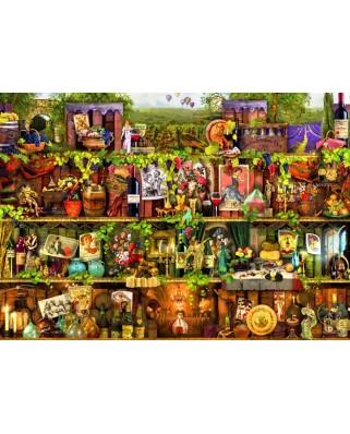 Puzzle Bluebird - Aimee Stewart: Wine Shelf, 2000 piese (70142)