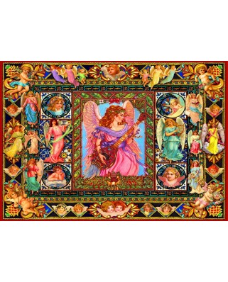 Puzzle Bluebird - Antique Angels, 1500 piese (70027)