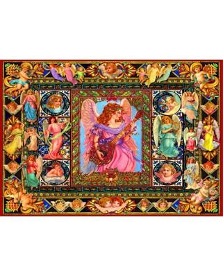 Puzzle Bluebird - Antique Angels, 1500 piese (70027)