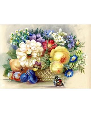 Puzzle Bluebird - Autumn Bouquet, 1500 piese (70026)
