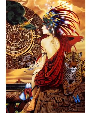 Puzzle Bluebird - Aztec Dawn, 1500 piese (70058)