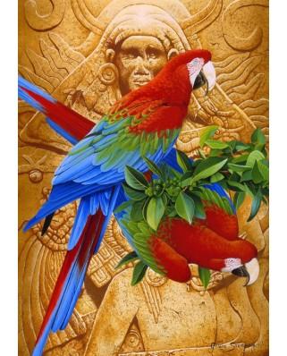 Puzzle Bluebird - Aztec Rainbow, 1500 piese (70103)