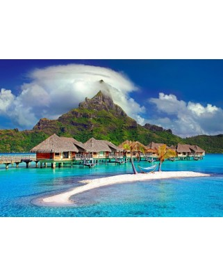 Puzzle Bluebird - Bora Bora, Tahiti, 500 piese (70005)