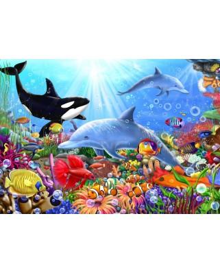 Puzzle Bluebird - Bright Undersea World, 1500 piese (70028)
