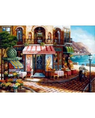 Puzzle Bluebird - Chez Michelle, 1.000 piese (70124)