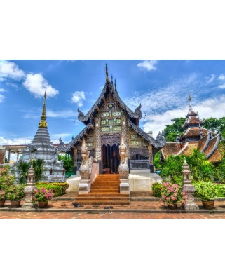Puzzle Bluebird - Chiang Mai, Thailand, 1.000 piese (70018)