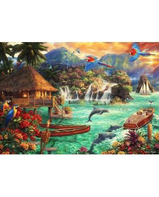 Puzzle Bluebird - Chuck Pinson: Island Life, 2.000 piese (70052)