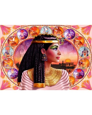 Puzzle Bluebird - Cleopatra, 1000 piese (70129)