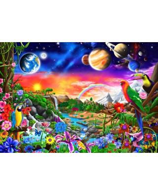 Puzzle Bluebird - Cosmic Paradise, 1000 piese (70151)