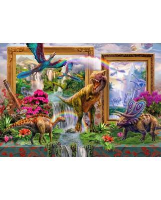 Puzzle Bluebird - Dinoblend, 1.000 piese (70139)