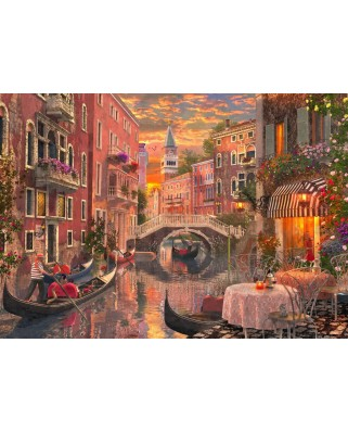 Puzzle Bluebird - Dominic Davison: An Evening Sunset In Venice, 1500 piese (70115)