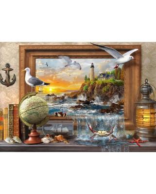 Puzzle Bluebird - Dominic Davison: Marine To Life, 1.000 piese (70112)