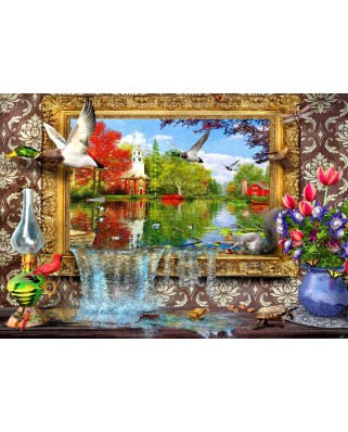 Puzzle Bluebird - Dominic Davison: Picture Of Life, 1500 piese (70191)