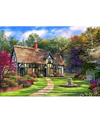 Puzzle Bluebird - Dominic Davison: The Hideaway Cottage, 2.000 piese (70196)