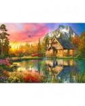 Puzzle Bluebird - Dominic Davison: The Mountain Cabin, 1.000 piese (70164)