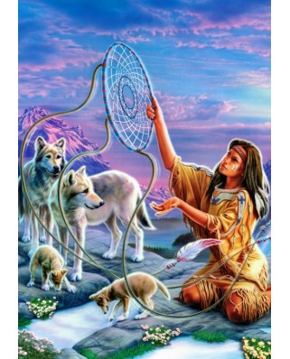 Puzzle Bluebird - Dream Catcher, 1.000 piese (70134)