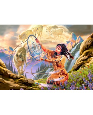 Puzzle Bluebird - Dream Catcher, 500 piese (70127)