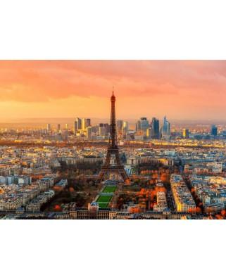 Puzzle Bluebird - Eiffel Tower, Paris, France, 1000 piese (70047)