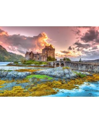 Puzzle Bluebird - Eilean Donan Castle, Scotland, 3.000 piese (70049)