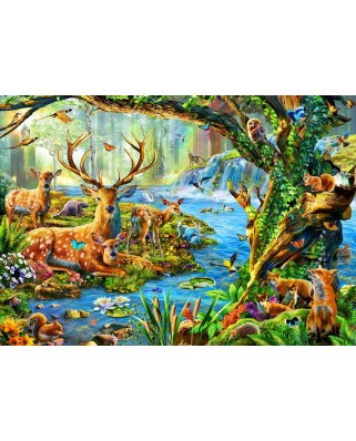 Puzzle Bluebird - Forest Life, 1500 piese (70185)