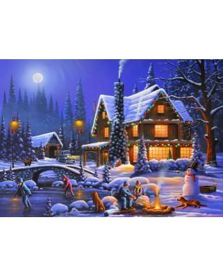 Puzzle Bluebird - Holiday Spirit, 500 piese (70094)