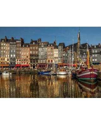 Puzzle Bluebird - Honfleur, France, 1500 piese (70040)