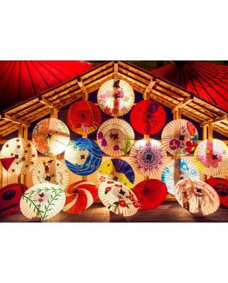 Puzzle Bluebird - Japanese Umbrellas, 2.000 piese (70008)