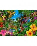 Puzzle Bluebird - Jungle Sunrise, 1500 piese (70150)