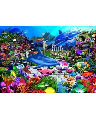Puzzle Bluebird - Lost Undersea World, 1.000 piese (70145)