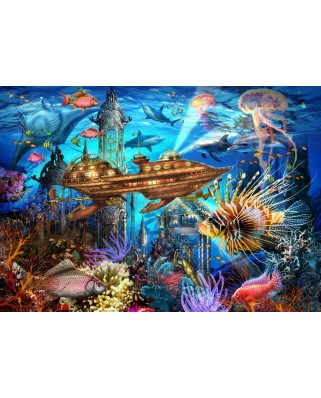 Puzzle Bluebird - Marchetti Ciro: Aqua City, 1000 piese (70121)