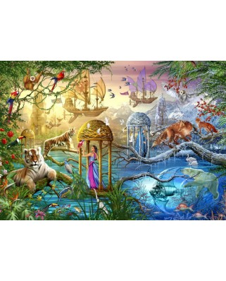 Puzzle Bluebird - Marchetti Ciro: Shangri La, 1.000 piese (70128)