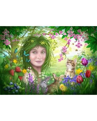 Puzzle Bluebird - Marchetti Ciro: Spirit Of Spring, 1.000 piese (70182)
