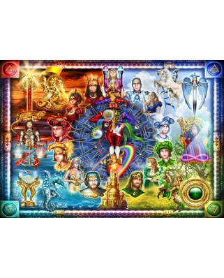 Puzzle Bluebird - Marchetti Ciro: Tarot Of Dreams, 1500 piese (70178)