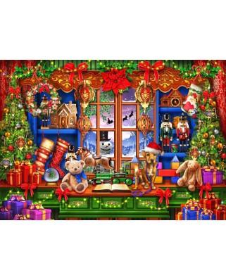 Puzzle Bluebird - Marchetti Ciro: Ye Old Christmas Shoppe, 2.000 piese (70184)