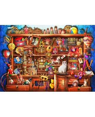 Puzzle Bluebird - Marchetti Ciro: Ye Old Shoppe, 2.000 piese (70168)
