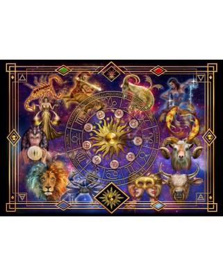 Puzzle Bluebird - Marchetti Ciro: Zodiac Montage, 1.000 piese (70123)