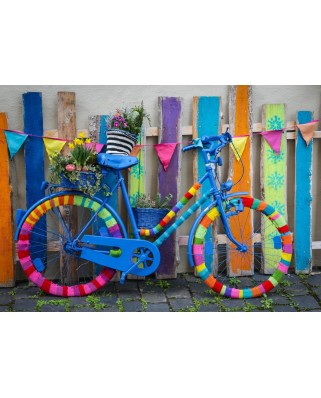 Puzzle Bluebird - My Beautiful Colorful Bike, 1000 piese (70010)