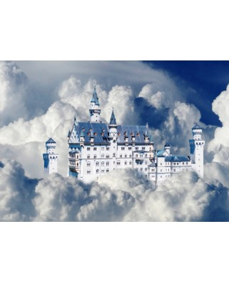 Puzzle Bluebird - Neuschwanstein Castle In Clouds, 500 piese (70036)