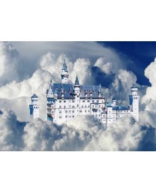 Puzzle Bluebird - Neuschwanstein Castle In Clouds, 500 piese (70036)