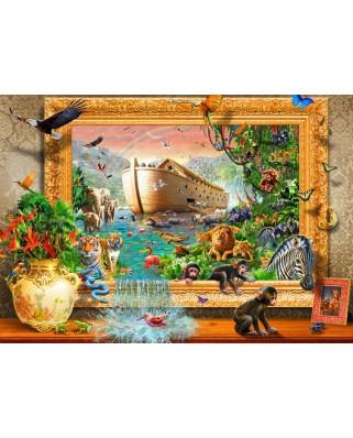Puzzle Bluebird - Noah's Ark Framed, 1500 piese (70140)