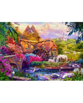 Puzzle Bluebird - Old Mill, 3000 piese (70146)