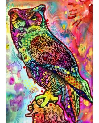 Puzzle Bluebird - Owl, 1.000 piese (70093)