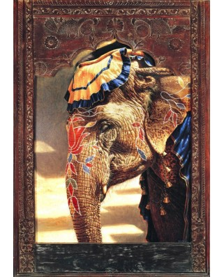 Puzzle Bluebird - Painted Lady With Frame, 2.000 piese (70061)