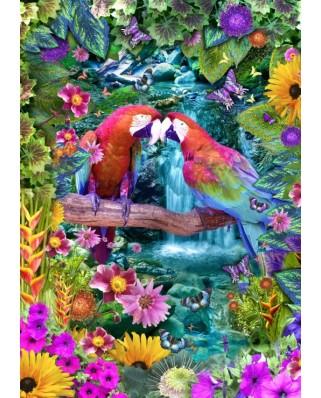 Puzzle Bluebird - Parrot Paradise, 1500 piese (70138)